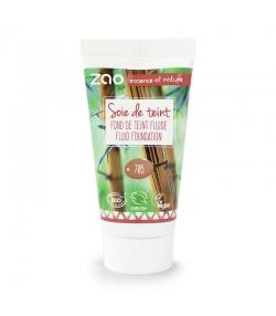 Recharge Fond de teint liquide BIO N°705 Cappuccino - 30ml - Zao Make-up