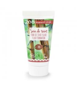 Recharge Fond de teint liquide BIO N°706 Chocolat - 30ml - Zao Make-up