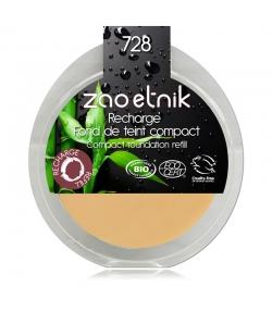 Nachfüller BIO-Kompakt-Make-up N°728 Ocker - 6g - Zao Make-up