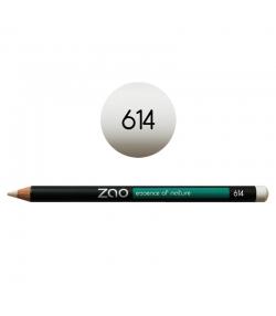 Crayon yeux, lèvres & sourcils BIO N°614 Blanc - 1,17g - Zao Make-up