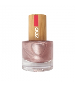 Nagellack glänzend N°658 Rosa Champagner - 8ml - Zao Make-up