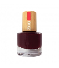 Vernis à ongles brillant N°659 Cerise noire - 8ml - Zao Make-up