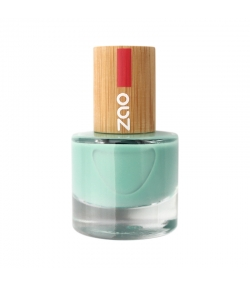 Vernis à ongles brillant N°660 Vert d'eau - 8ml - Zao Make-up