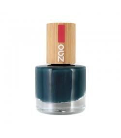 Nagellack glänzend N°666 Blaugrün - 8ml - Zao Make-up