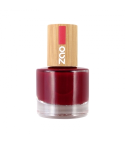 Vernis à ongles brillant N°668 Rouge passion - 8ml - Zao Make-up