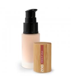 Fond de teint liquide BIO N°710 Pêche - 30ml - Zao Make-up