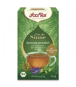 Infusion avec huile de lavande, rooibos & mélisse BIO - Instant de Quiétude - 20 sachets - Yogi Tea