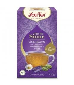 Infusion avec huile de lavande, fleurs de camomille & houblon BIO - Doux Rêves - 20 sachets - Yogi Tea