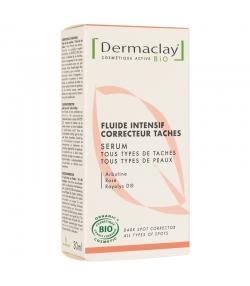 BIO-Serum Fluid Intensiv gegen Pigmentflecken Arbutin & Rose - 30ml - Dermaclay