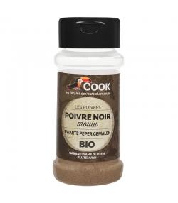 Poivre noir en poudre BIO - 45g - Cook