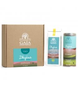 Coffret cadeau méditation BIO Dhyana Terre de Sérénité - Les Jardins de Gaïa