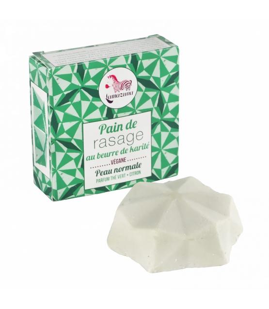 Pain de rasage solide beurre de karité - 55g - Lamazuna