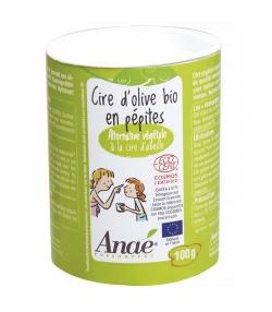 Kosmetisches BIO-Olivenwachs in Pastillenform - 100g - Anaé