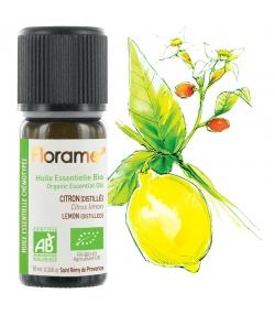 Ätherisches BIO-Öl Zitrone destilliert - 10ml - Florame