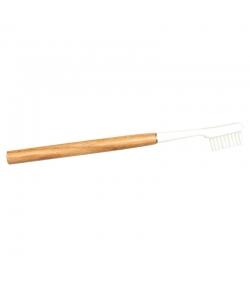 Zahnbürste aus Eiche mit auswechselbarem Bürstenkopf Medium Nylon - 1 Stück - Caliquo