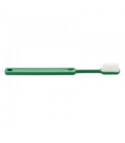 Brosse à dents en bioplastique à tête rechargeable Vert Souple Nylon - 1 pièce - Caliquo