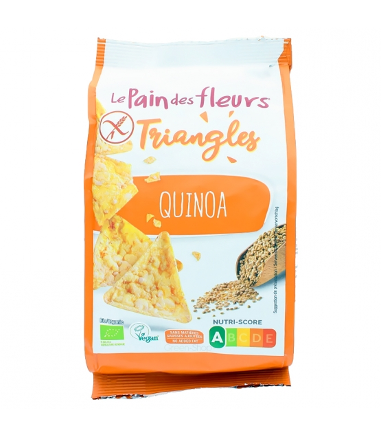 Triangles au quinoa BIO - 50g - Le pain des fleurs