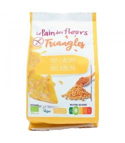Triangles au maïs & curcuma BIO - 50g - Le pain des fleurs