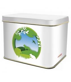 """Boîte en fer blanc rectangle """"biodiversité campagne"""" - 1 pièce - ah table !"""