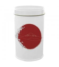 """Boîte en fer blanc ronde """"Japon Fuji Yama"""" - 1 pièce - ah table !"""