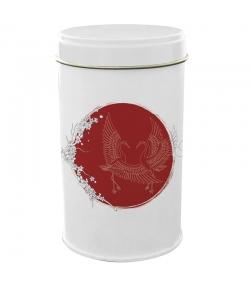 """Boîte en fer blanc ronde """"Japon oiseaux"""" - 1 pièce - ah table !"""