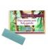Recharge Fard à paupières rectangle nacré BIO N°127 Bleu paon - 1,3g - Zao Make-up