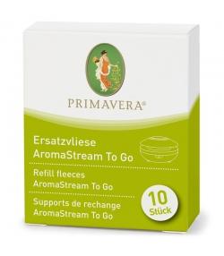 Pads de rechange pour diffuseur AromaStream To Go - 10 pièces - Primavera
