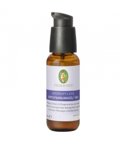 Huile de massage relaxante BIO lavande & palmarosa - 50ml - Primavera