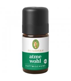 Synergie d'huiles essentielles Confort respiratoire BIO - 5ml - Primavera