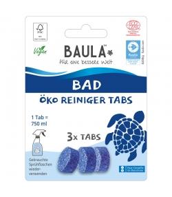 Pastilles nettoyantes salle de bain écologiques Fresh Ocean - 3 pastilles - Biobaula
