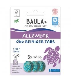 Pastilles nettoyantes multi-usages écologiques Fresh Ocean - 3 pastilles - Biobaula