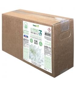 Ökologisches Flüssigwaschmittel Weisswäsche Minze - 160 Waschgänge - 10l - SanyBIO