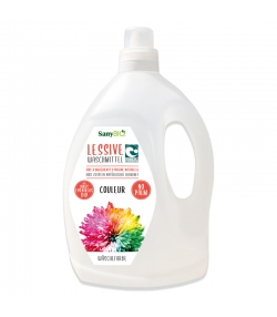 Lessive liquide linge de couleur écologique verveine - 48 lavages - 3l - SanyBIO