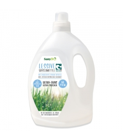 Lessive liquide tous textiles écologique parfum fraîcheur - 48 lavages - 3l - SanyBIO