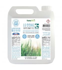 Lessive liquide tous textiles écologique parfum fraîcheur - 80 lavages - 5l - SanyBIO