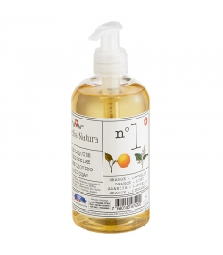 Savon liquide n°1 BIO orange & cannelle - 300ml - Helvetia Natura