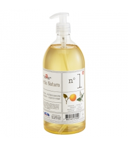 Savon liquide n°1 BIO orange & cannelle - 1l - Helvetia Natura