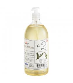 Savon liquide n°2 BIO cèdre & menthe - 1l - Helvetia Natura