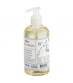 Savon liquide n°4 BIO lavande & fleur d'oranger - 300ml - Helvetia Natura