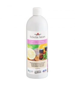 Shampooing-douche famille BIO patchouli, citron & orange - 1l - Helvetia Natura