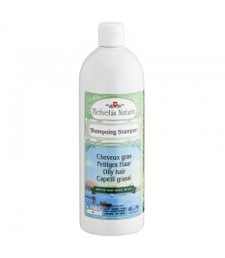 Shampooing cheveux gras BIO menthe - 1l - Helvetia Natura