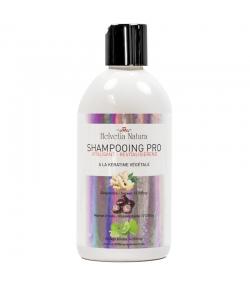 Shampooing vitalisant BIO gingembre, marron d'Inde & kératine végétale - 500ml - Helvetia Natura