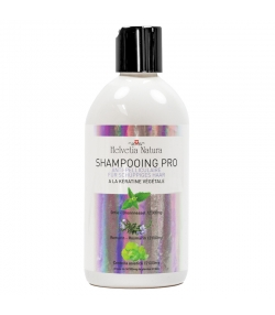 BIO-Shampoo Anti-Schuppen Brennnessel, Rosmarin & pflanzliches Keratin - 500ml - Helvetia Natura