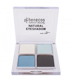 Quatre ombres à paupières BIO True blue - 4,8g - Benecos
