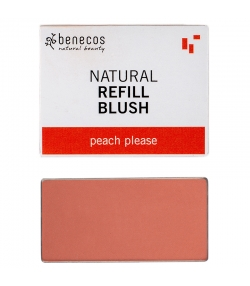 Nachfüller BIO-Wangenrouge Peach please - 3g - Benecos it-pieces
