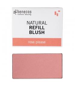 Nachfüller BIO-Wangenrouge Rose please - 3g - Benecos it-pieces