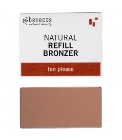 Nachfüller BIO-Bronzepuder Tan please - 3g - Benecos it-pieces