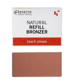Nachfüller BIO-Bronzepuder Beach please - 3g - Benecos it-pieces