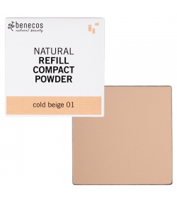 Nachfüller BIO-Kompaktpuder Cold beige 01 - 6g - Benecos it-pieces