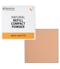 Nachfüller BIO-Kompaktpuder Warm sand 02 - 6g - Benecos it-pieces